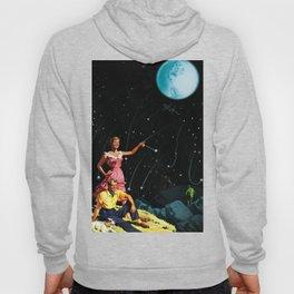 Luxurious Lunar Larking Hoody