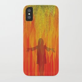 hephaestus in her hands iPhone Case