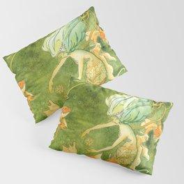 Treasures of the Lotus Nymph Pillow Sham