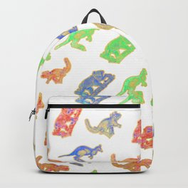 Beautiful Native Australian Animal Print Backpack