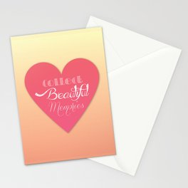 Collect Beautiful Memories  Stationery Cards