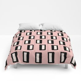 Chad Pattern Dusty Rose 2 Comforters