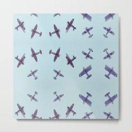 Toys#plane#1942#blue Metal Print