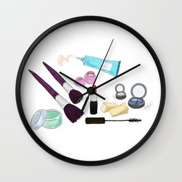 Makeup Bag Wall Clock