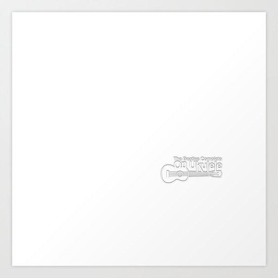 The White Album Art Print