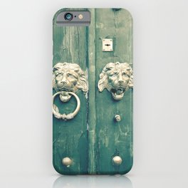 Be Bold Enough To Knock iPhone Case