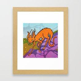 Mr Jengles Framed Art Print