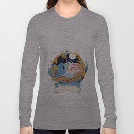 Pirate moon Long Sleeve T-shirt