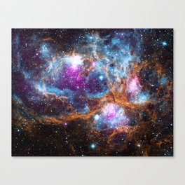 Nebula | Universe | Galaxies | Goddess | God | Stardust Canvas Print