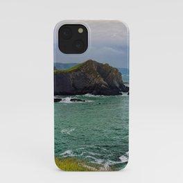 Screda Cove, Hartland Quay, Devon iPhone Case
