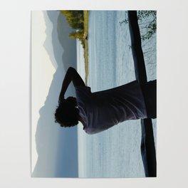 Duncan Lake BC Poster