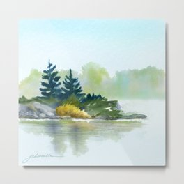 Little Pine Point Metal Print