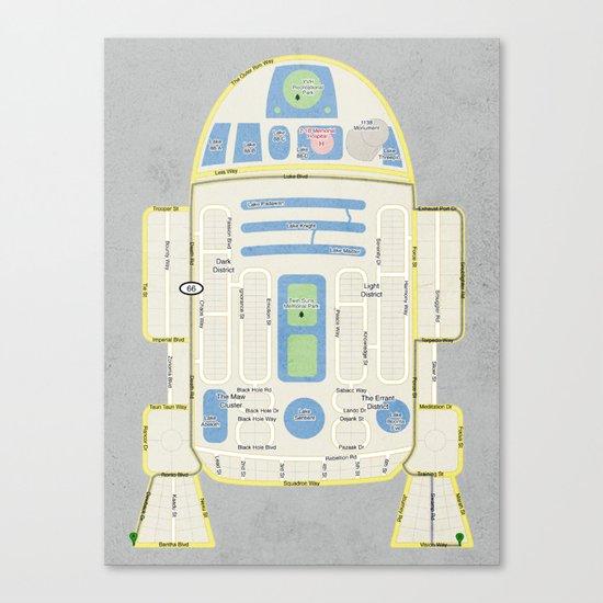 R2Detour Canvas Print