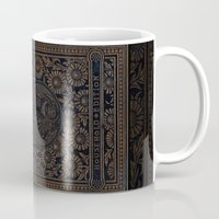 jane eyre Mugs featuring Jane Eyre by Charlotte Bronte, Vintage Book Cover by ForgottenCotton