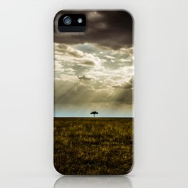 The Lone Acacia iPhone Case