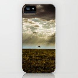 The Lone Acacia iPhone Case