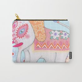 painty elephant Carry-All Pouch