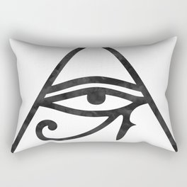 Eye Of Horus Rectangular Pillow