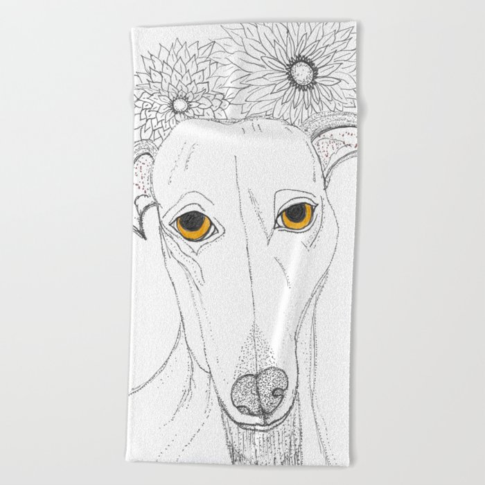 Do you have room for me? Beach Towel