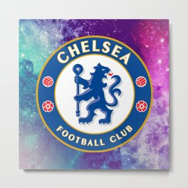 Chelsea FC Galaxy Metal Print