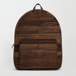 Dark Wood Backpack