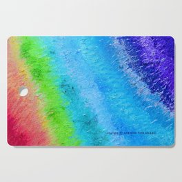 """""""Sign Painter Palette"""" Oil Painting Cutting Board"""