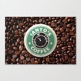 Ianto's Coffee Canvas Print