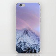 Chamonix Sky iPhone Skin
