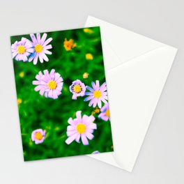 Hypercolor Purple Flowers Stationery Cards