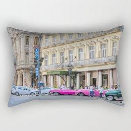Havana Taxis Rectangular Pillow