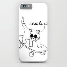 CARELESS CAT - C'EST LA VIE Slim Case iPhone 6s