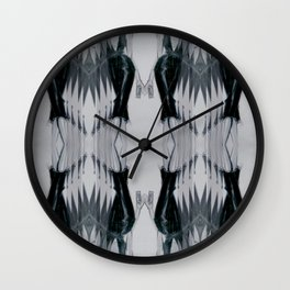 Black dress (Oh, those curves, baby!) Wall Clock