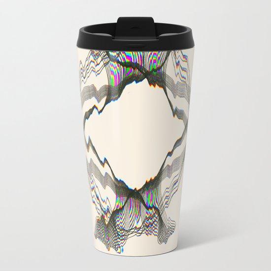 GLITCH Metal Travel Mug