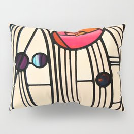 "Charles Rennie Mackintosh ""Stained glass window"" Pillow Sham"
