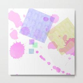 Chaos of color splash #01 Metal Print