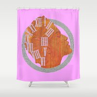 grace Shower Curtains featuring GRACE by Marukosu