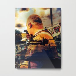 """""""A Day At The Growlers Game"""" Metal Print"""