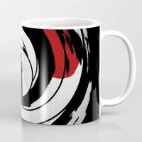 james bond Mugs featuring JAMES BOND by alexa