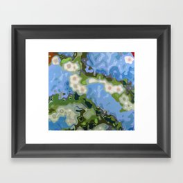 Hither and Thither Framed Art Print