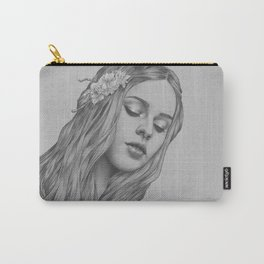 Patience - a digital drawing Carry-All Pouch