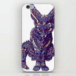 Fennec Fox (Color Version) iPhone Skin