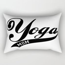 yoga mom Rectangular Pillow