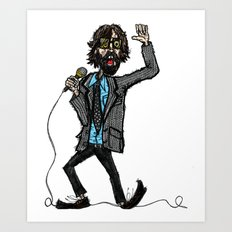 Jarvis Cocker Pulp Art Print