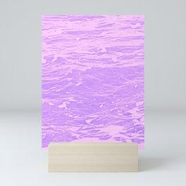 Lavender Waves Mini Art Print