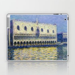 The Palazzo Ducale by Claude Monet Laptop & iPad Skin