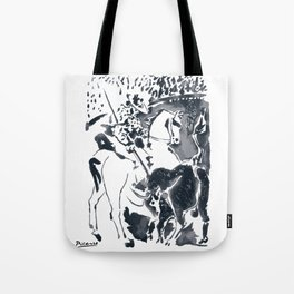 Pablo Picasso Picador II (Bullfighter) T Shirt, Aquatint Art Tote Bag