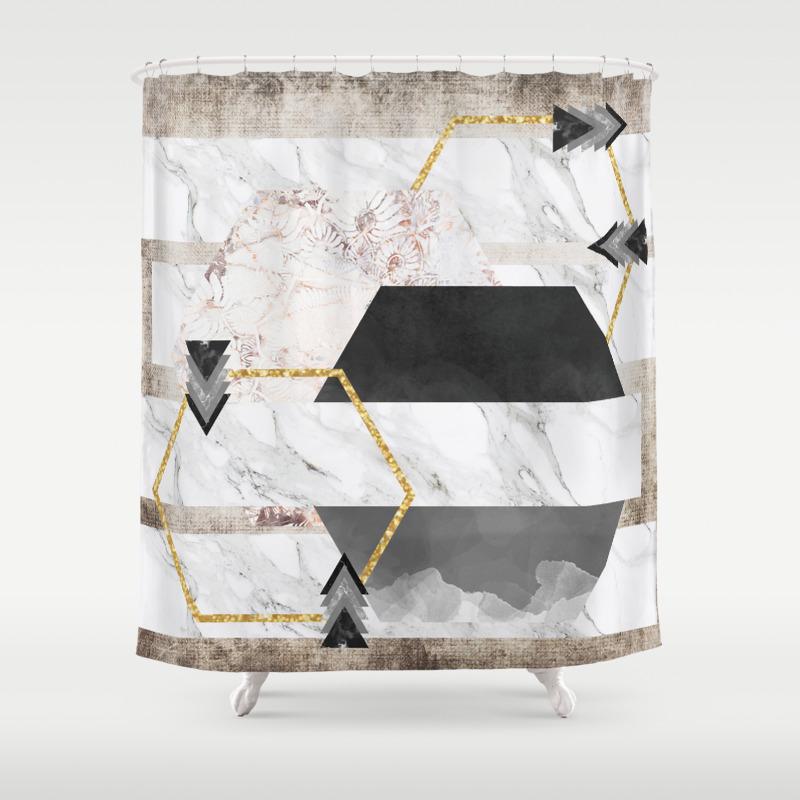 Boheme Luxury Shower Curtain