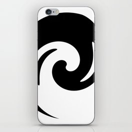 Yin Yang Exagerated iPhone Skin
