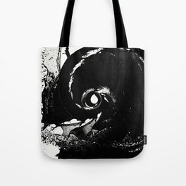 Whirlpool Of Black Tote Bag