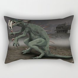 Chupacabras Rectangular Pillow